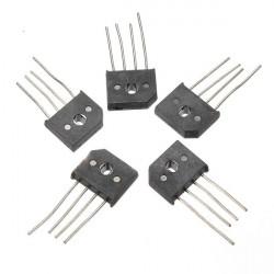 10A 1000V KBU1010 Enskilda Faserna Diodlikriktare Bridge IC Chip