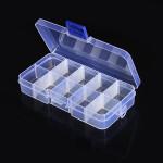 10stk 10 Pris Elektronisk Komponenter Opbevaring Sortiment Box Arduino SCM & 3D-printer