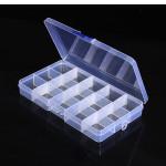 10stk 15 Værdi Elektronisk Komponenter Opbevaring Sortiment Box Arduino SCM & 3D-printer