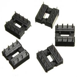10stk 2.54mm 8 Pins IC DIP Integrated Circuit Sockets Adaptor