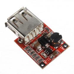10er 3V bis 5V 1A USB Ladekabel DC DC Wandler Step Up Boost Modul