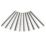 10 st 40 Pin 2.54mm enradiga Man Pin Header remsa för Arduino Prototype Shield DIY