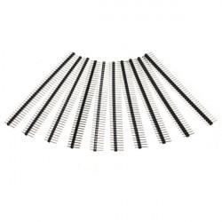 10 Pcs 40 Pin 2.54mm Single Row Male Pin Header Strip For Arduino Prototype Shield DIY