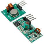 10stk 433Mhz RF Transmitter med Modtager Kit for Arduino MCU Trådløs Arduino SCM & 3D-printer