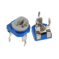 10Pcs 6mm 10K OHM Trimpot Trimmer Pot Variable Resistor Horizontal