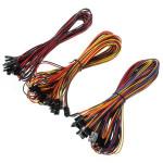 10 Pcs 70cm 2/3/4 Pin Female til kvindelige Kabler jumperledninger For 3D Printer Mendel RepRap