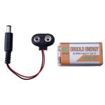 10st 9V Batteri och Spänne Snaps Avdrag för Arduino 2560 / 2560R3 / UNO / UNO R3 Arduino SCM & 3D-skrivare