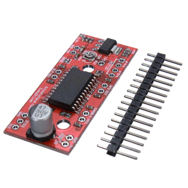 10Pcs A3967 V44 EasyDriver Stepper Motor Driver Development Board Arduino SCM & 3D Printer Acc