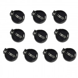 10Pcs DIY 2CM Diameter Button Battery Holders For CR2025 / CR2032