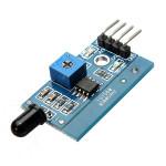 10Pcs LM393 760nm - 1100nm IR Infrared Flame Sensor Module For Arduino Arduino SCM & 3D Printer Acc