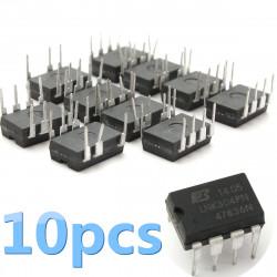 10st LNK304PN LNK304 Ströminkapslings DIP-7 Chip