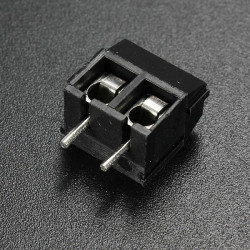 10Pcs Screw Terminal Block Connector 2 Pin 5mm Pitch