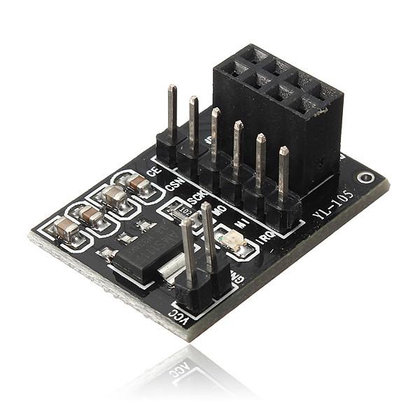 10st Kontakt Adapter Platta för 8pin NRF24L01 + Trådlös Modul Arduino SCM & 3D-skrivare