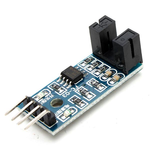 10st Hastighet Mätsensor Counter Motor Test Groove Koppling Modul för Arduino Arduino SCM & 3D-skrivare