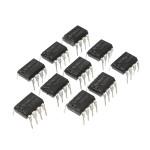 10st TL072 TL072CP DIP8 Chorus Delay OP-förstärkare IC Chips Arduino SCM & 3D-skrivare