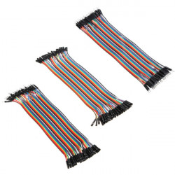 120Pcs 20cm Color Breadboard Jumper Cable Wire Combination For Arduino