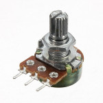 1/2/5/10/20/50/100/250/500/1000K Ohm Potentiometers Single Linear