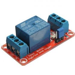 12V 1 Kanal Relämodul med Optokopplare Hög / Låg Nivå Triger för Arduino