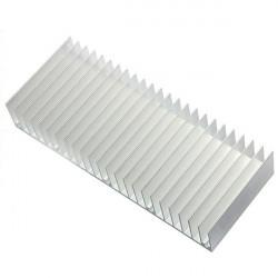 150 X 60 X 25mm Aluminium Kylfläns Kylning för Chip IC LED
