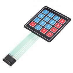 16Keys 4 x 4 SCM Matrix External Expansion Keyboard Contral Board