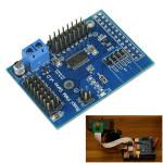 16 Way Servo Kontroll Expansionskort för Raspberry Pi B + Arduino SCM & 3D-skrivare