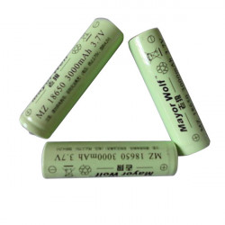 18650 3.7V 3000mAH Strong Flashlight Batteries Lithium Battery