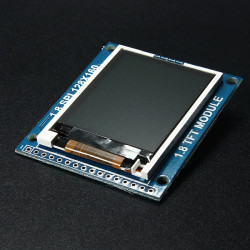 1,8 Zoll Serial SPI TFT LCD Display Modul mit Power IC SD Sockel