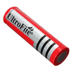 1 PCS UltroFite 18650 genopladeligt Li-ion batteri 4200mah