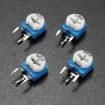 1 Pc 1K/5K/20K/50K/100K Ohm Trimpot Variable Trimmer Resistor Potentiometer Arduino SCM & 3D Printer Acc