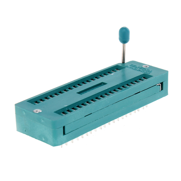 1 PC 40P 40 Pin ZIF ZIP IC Tester Kort Kontakt Multifunction Arduino SCM & 3D-skrivare