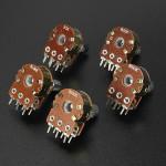 1 Pc 5/20/50/100/500KOhm Linear Log Reverse Rotary Pot Potentiometer Audio Mono Arduino SCM & 3D Printer Acc