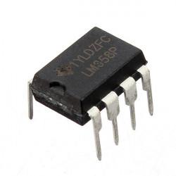 1 PC LM358P LM358N LM358 DIP-8 Chip IC Dual Operationsförstärkare