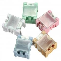 1PC Mini ESD SMD Chip Motstånd Kondensator Komponent Box 5 Färg