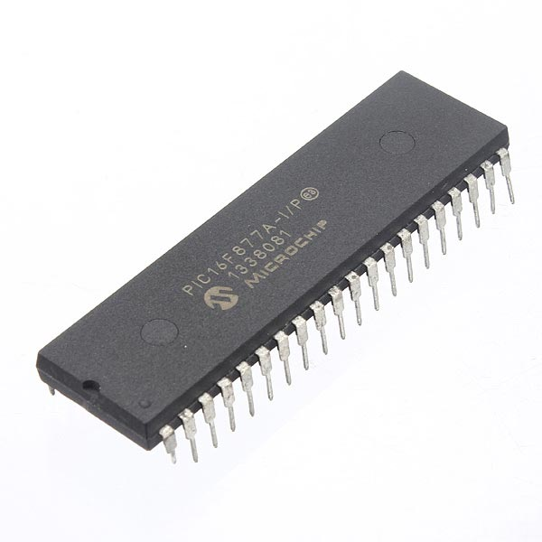 1 Pc PIC16F877A-I/P DIP-40 PIC16F877A Microchip Microcontroller IC Arduino SCM & 3D Printer Acc