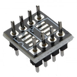 1stk SOP8 SO8 SOIC8 TO DIP8 Adapter PCB SMD Wandlerkarte