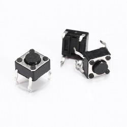 1pc 6 x 6 x 4,3 mm 4 Pin DIP Druckpunkt Push Button Switch