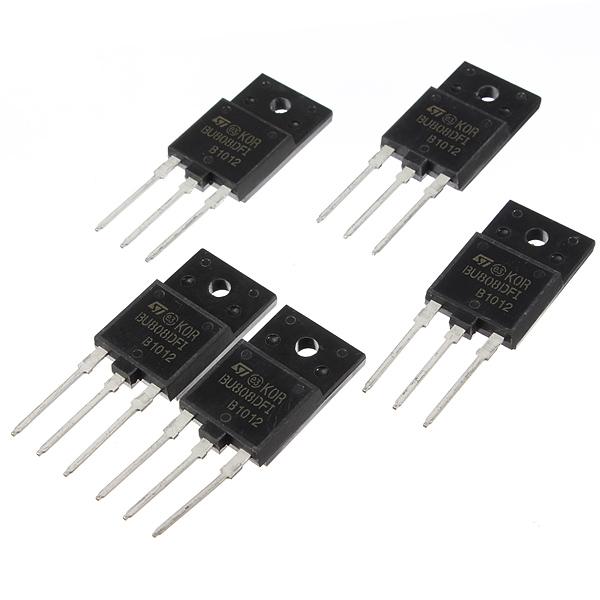 1pc BU808DFI TO-3PF TO-3P IC Transistor DARL NPN ISOWATT218 Arduino SCM & 3D Printer Acc