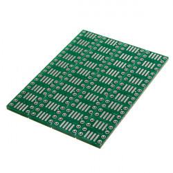 20st SOP8 SO8 SOIC8 SMD till DIP8 Adapter PCB Kort Konverter Dubbla Sidor 0.65 / 1.27 Mm