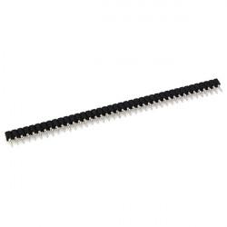 20Pcs 40Pin Single Row 2.54mm Round Female Header Pin