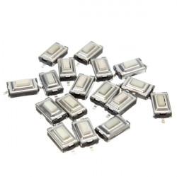 20Pcs SMD PCB Tactile Push Button Switch 2 Pin 6 x 3.5 x 2.5mm