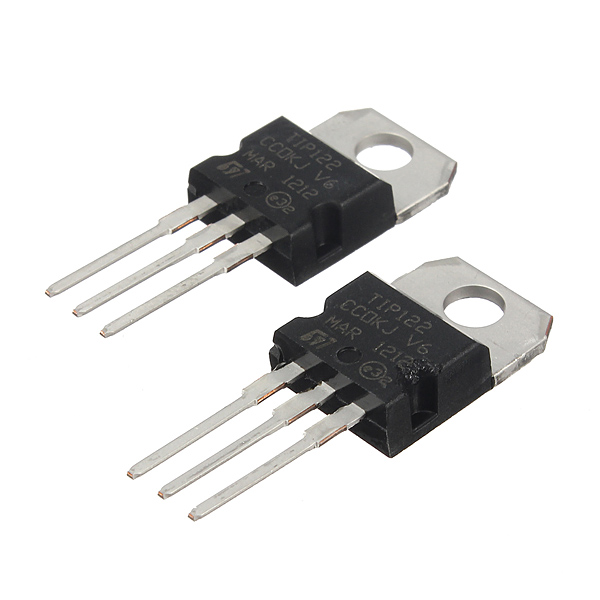 20Pcs TIP122 To 220 NPN Transistor Complementary 100V 3A 5A 2W Arduino SCM & 3D Printer Acc