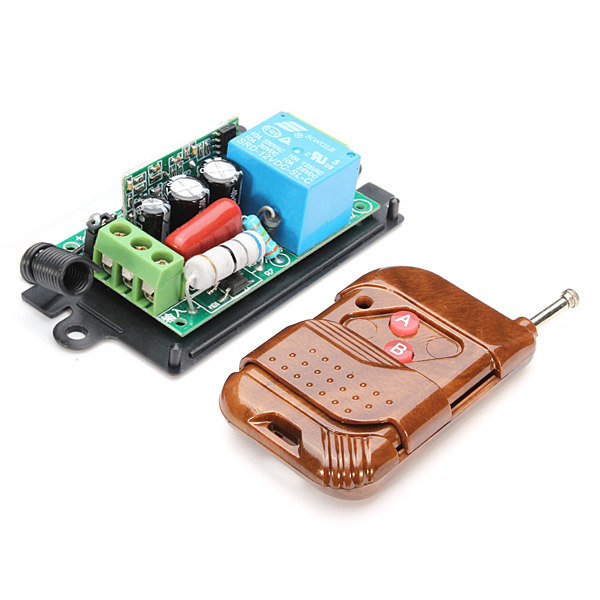 220V 10A 315MHz Wireless Remote Control Switch 1 Channel Transmitter And Receiver Arduino SCM & 3D Printer Acc