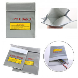 23x30cm 18x23cm Li-Po Battery Brandsikker Safety Guard Opladning Sack Bag