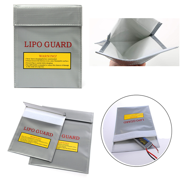 23x30cm 18x23cm Li-Po Battery Fireproof Safety Guard Charging Sack Bag Batteries & Chargers