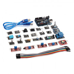 24 In 1 Sensor Module Kit Set With Development Board USB Cable