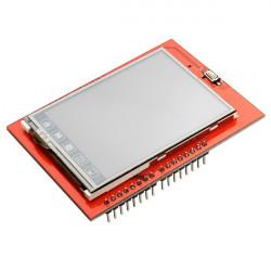 """2.4"""" TFT LCD Skärmad Touch Kort Display Modul för Arduino UNO"""