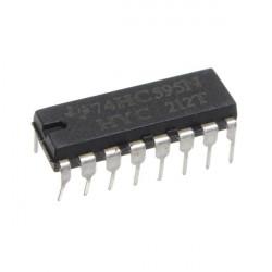 25stk SN74HC595N 74HC595 74HC595N HC595 DIP 16 8 Bit Schieberegister IC