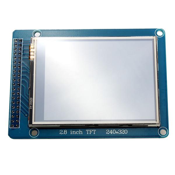 """2.8"""" 240 X 320 ILI9325 TFT LCD Pekskärm Modul för SCM Arduino Arduino SCM & 3D-skrivare"""