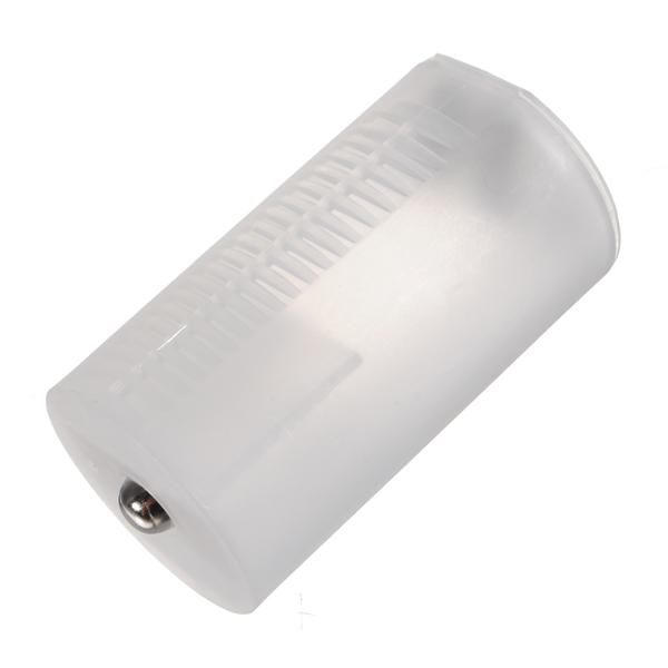 2 AA til D Size Battery Holder Etui Adaptor Converter Shell Batterier & Opladere