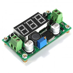2stk 4V-40V DC-DC Step Down LM2596 Voltage Regulator Konverter Modul